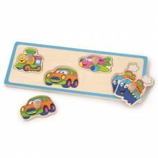Деревянная игрушка  Пазл-вкладыш Viga Toys Транспорт 50112