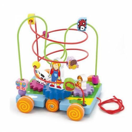 Деревянная игрушка  Лабиринт Viga Toys Машинка 50120