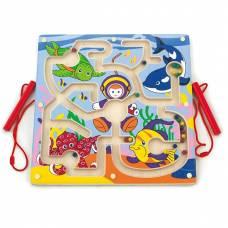 Деревянная игрушка  Лабиринт Viga Toys Подводный мир 50123