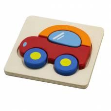 Деревянная игрушка  Мини-пазл Viga Toys Машинка 50172