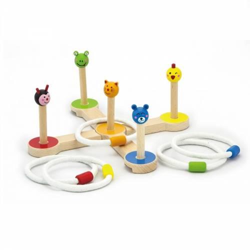 Деревянная игрушка  Игра Viga Toys Брось кольцо 50174