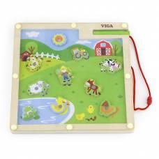 Деревянная игрушка  Игра Viga Toys Ферма 50193