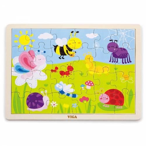 Деревянная игрушка  Пазл Viga Toys Парк, 24 элемента 50199