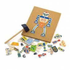 Деревянная игрушка  Набор для творчества Viga Toys Робот 50335
