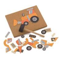 Деревянная игрушка  Набор для творчества Viga Toys Строительная техника 50336