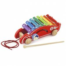 Деревянная игрушка  Игрушка-каталка Viga Toys Машинка 50341
