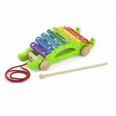 Деревянная игрушка  Игрушка-каталка Viga Toys Крокодил 50342