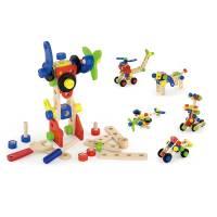 Деревянная игрушка  Конструктор Viga Toys 68 деталей 50382