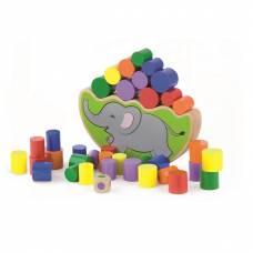 Деревянная игрушка  Игра Viga Toys Балансирующий слон 50390