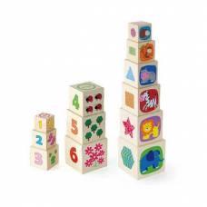 Деревянная игрушка  Игрушка Viga Toys Кубики 50392