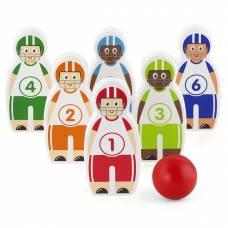 Деревянная игрушка  Игра Viga Toys Боулинг 50666