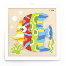 Деревянная игрушка  Набор для творчества Viga Toys Своими руками. Рыбка 50687