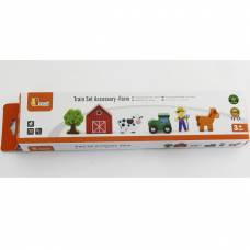 Деревянная игрушка  Доп. набор к ж/д Viga Toys Ферма 50812