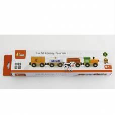 Деревянная игрушка  Доп. набор к ж/д Viga Toys Поезд-ферма 50821