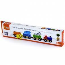 Деревянная игрушка  Доп. набор к ж/д Viga Toys Поезд с животными 50822
