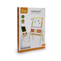 Деревянная игрушка  Двусторонний магнитный мольберт Viga Toys 50951