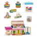 Деревянная игрушка  Набор строительных блоков Viga Toys 250 шт. 50956