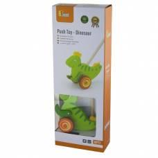 Деревянная игрушка  Игрушка-каталка Viga Toys Динозавр 50963