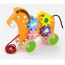 Деревянная игрушка  Игрушка-каталка Viga Toys Лошадка 50976