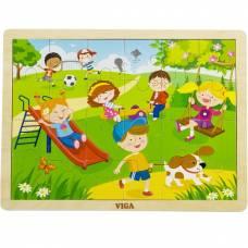 Деревянная игрушка  Пазл Viga Toys Времена года. Весна 51269