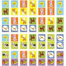 Деревянная игрушка  Настольная игра Viga Toys Домино Ферма 51306
