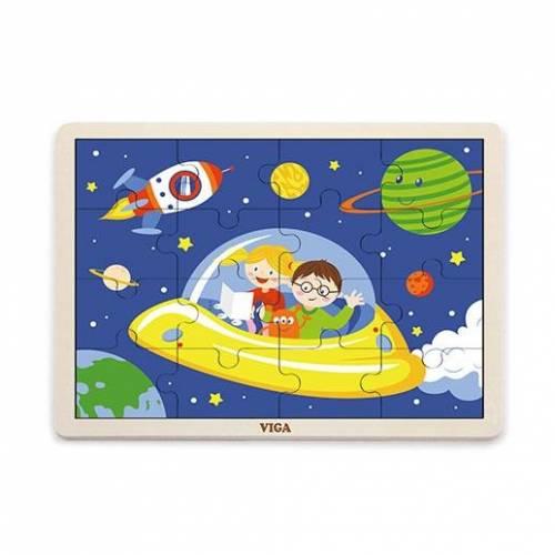 Деревянная игрушка  Пазл Viga Toys Космос 51457