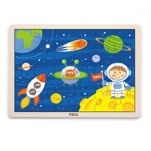 Деревянная игрушка  Пазл Viga Toys Космос 51461