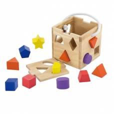 Деревянная игрушка  Сортер Viga Toys Кубик 53659