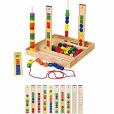 Деревянная игрушка  Набор для обучения Viga Toys Логика 56182