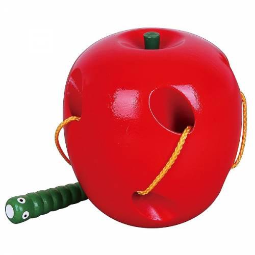 Деревянная игрушка  Шнуровка Viga Toys Яблоко 56276