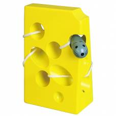 Деревянная игрушка  Шнуровка Viga Toys Сыр 56281