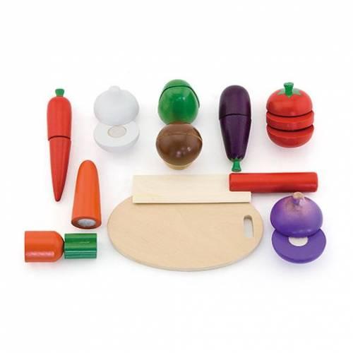 Деревянная игрушка  Игровой набор Viga Toys Овощи 56291