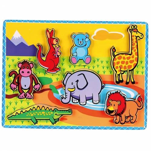 Деревянная игрушка  Рамка-вкладыш Viga Toys Животные 56435