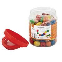 Деревянная игрушка  Шнуровка Viga Toys Бусинки, 90 шт. 58304
