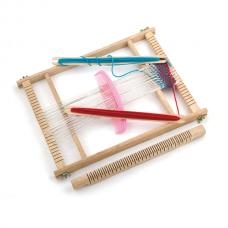 Деревянная игрушка  Набор для творчества Viga Toys Ткацкий станок 58392