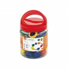 Деревянная игрушка  Шнуровка Viga Toys Бусинки, 30 шт. 58466