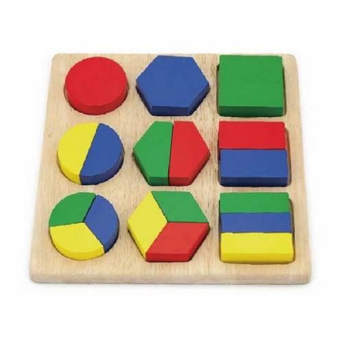 Деревянная игрушка  Пазл Viga Toys Формы 58573
