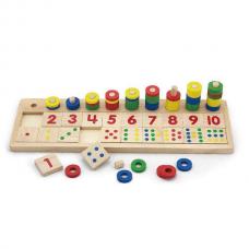 Деревянная игрушка  Игрушка Viga Toys Цифры и счет 59072