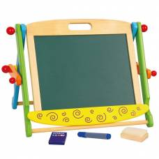 Деревянная игрушка  Магнитная доска двусторонняя Viga Toys 59075