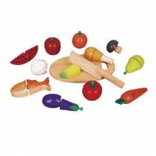 Деревянная игрушка  Игровой набор Viga Toys Продукты 59560
