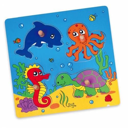 Деревянная игрушка  Пазл Viga Toys Море 59564