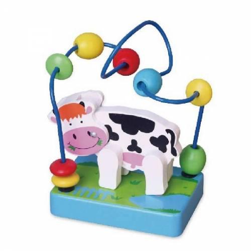 Деревянная игрушка  Мини-лабиринт Viga Toys Корова 59661