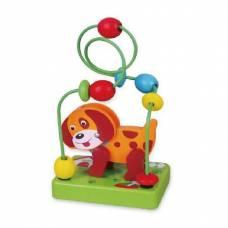 Деревянная игрушка  Мини-лабиринт Viga Toys Собачка 59662