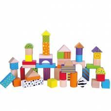Деревянная игрушка  Набор кубиков Viga Toys 50 шт., 3 см 59695