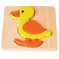 Деревянная игрушка  Мини-пазл Viga Toys Уточка 59929