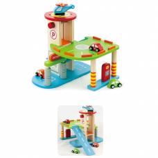 Деревянная игрушка  Игровой набор Viga Toys Гараж 59963VG