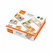 Настольная игра Viga Toys Домино Животные 59622