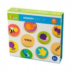 Настольная игра Viga Toys Memory 32 карточки 50126
