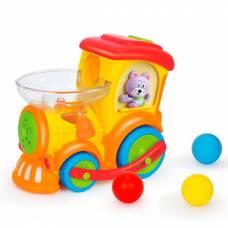 Игрушка Huile Toys Паровозик Ту-Ту 958