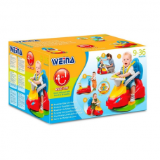 Игрушка Weina машинка-каталка Делюкс 2133